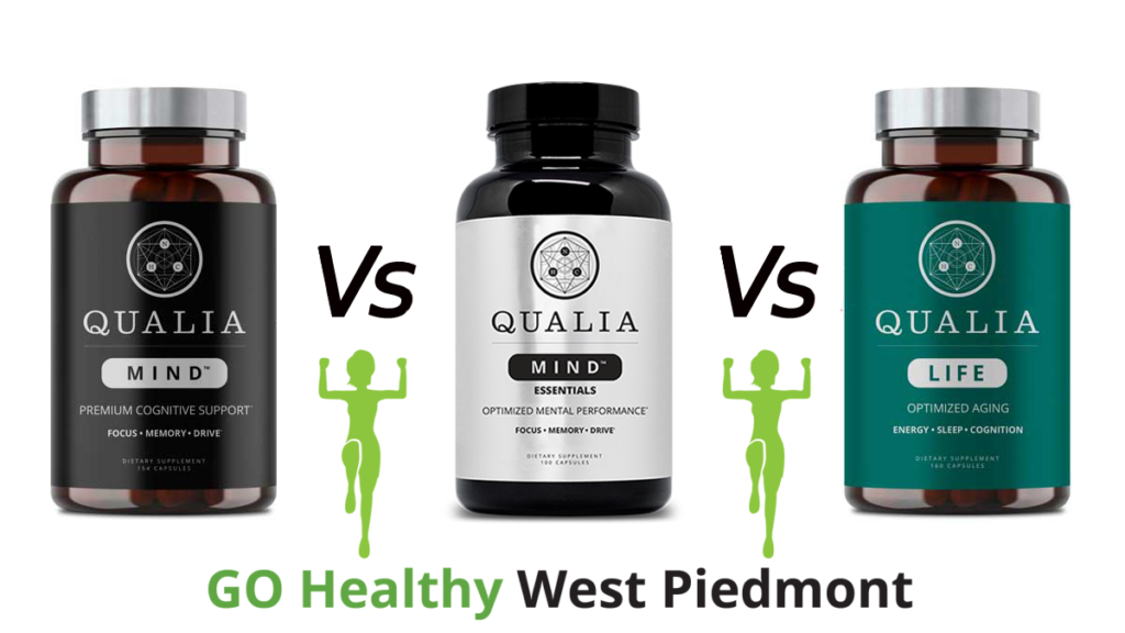 Qualia Mind vs Qualia Mind Essentials (Qualia Focus) vs Qualia Life