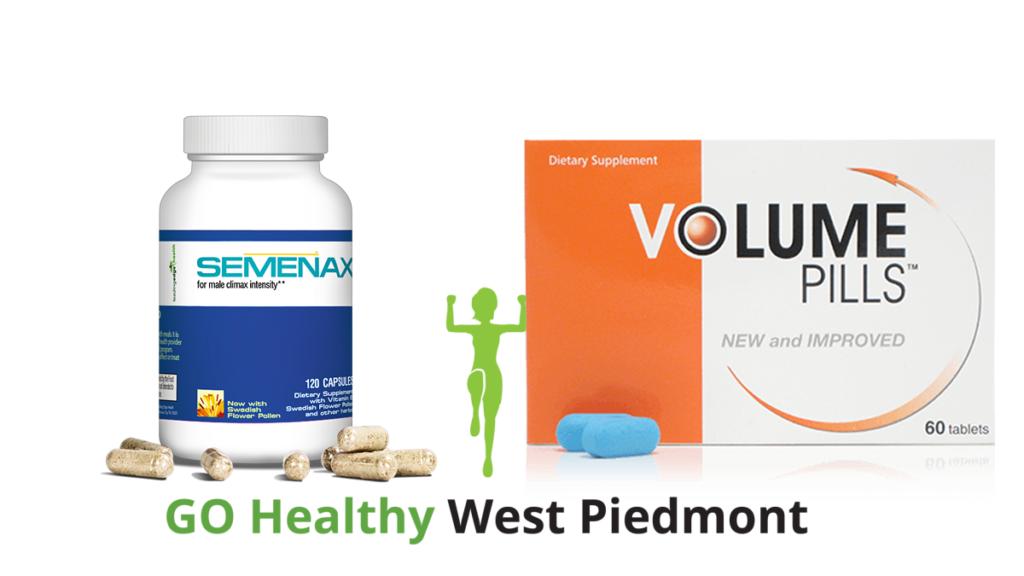 Semenax vs Volume Pills Go Healthy West Piedmont