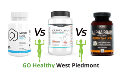 Mind Lab Pro vs Lumultra vs Alpha Brain Go Healthy West Piedmont Review