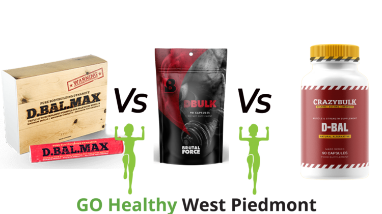 DBal Max vs DBal Vs DBulk Go Healthy West Piedmont Comparison
